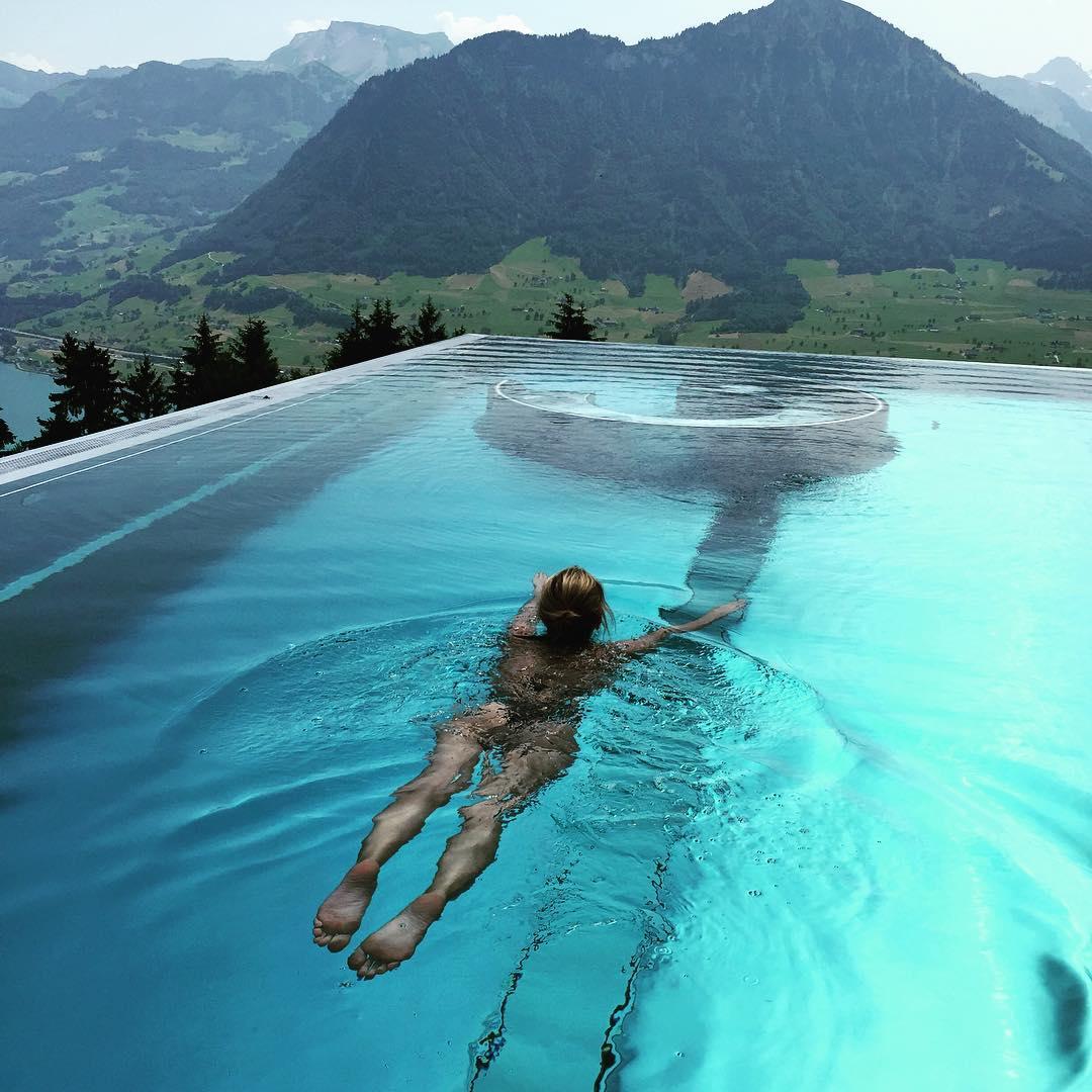 pool elenabarolo mountain view panorama hotelvillahonegg swimmingpool summer15 travel besthotelintheworldhellip