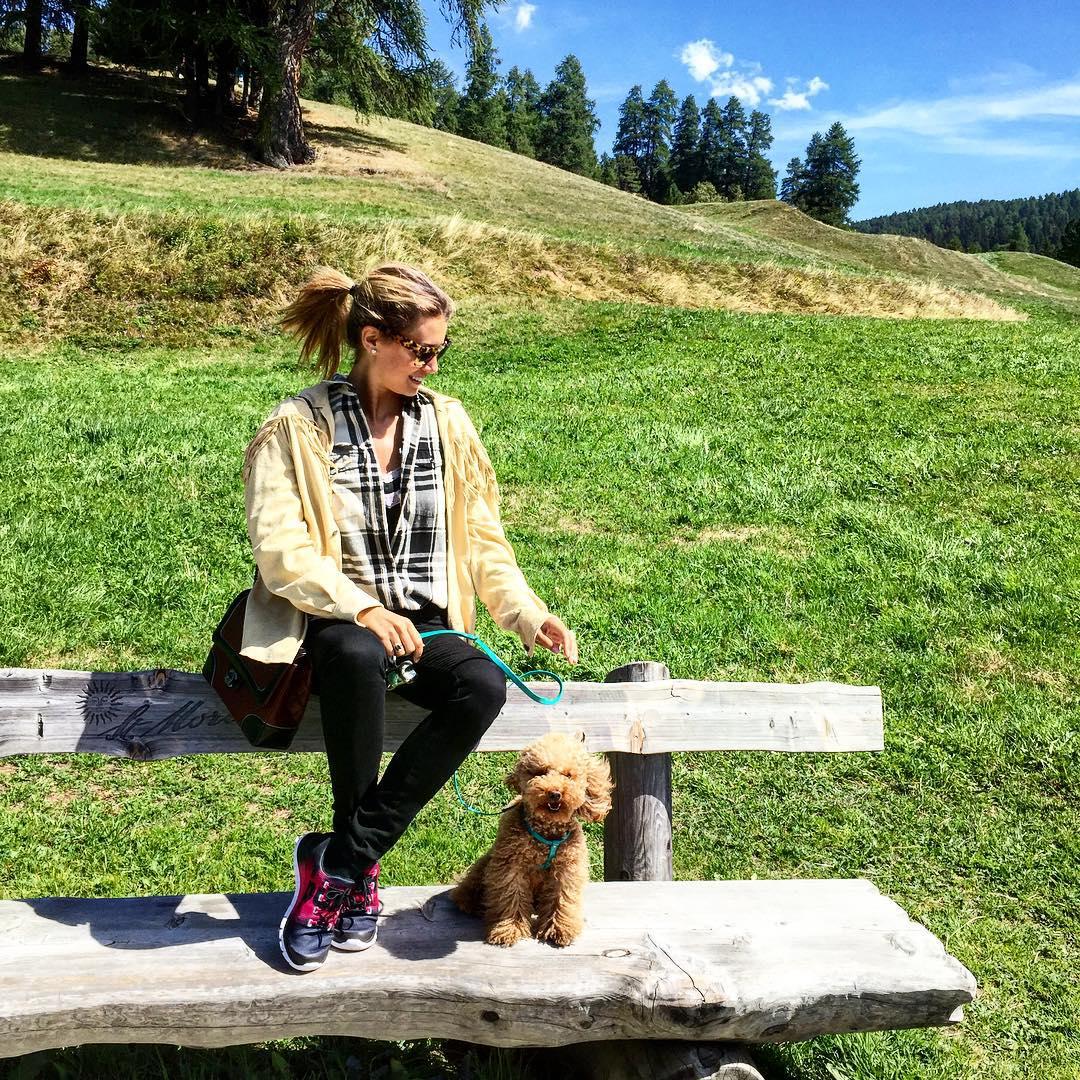 Windy easy mountains elenabarolo OOTD outfit stmoritz mountain poodle leavventurediwhiskyhellip