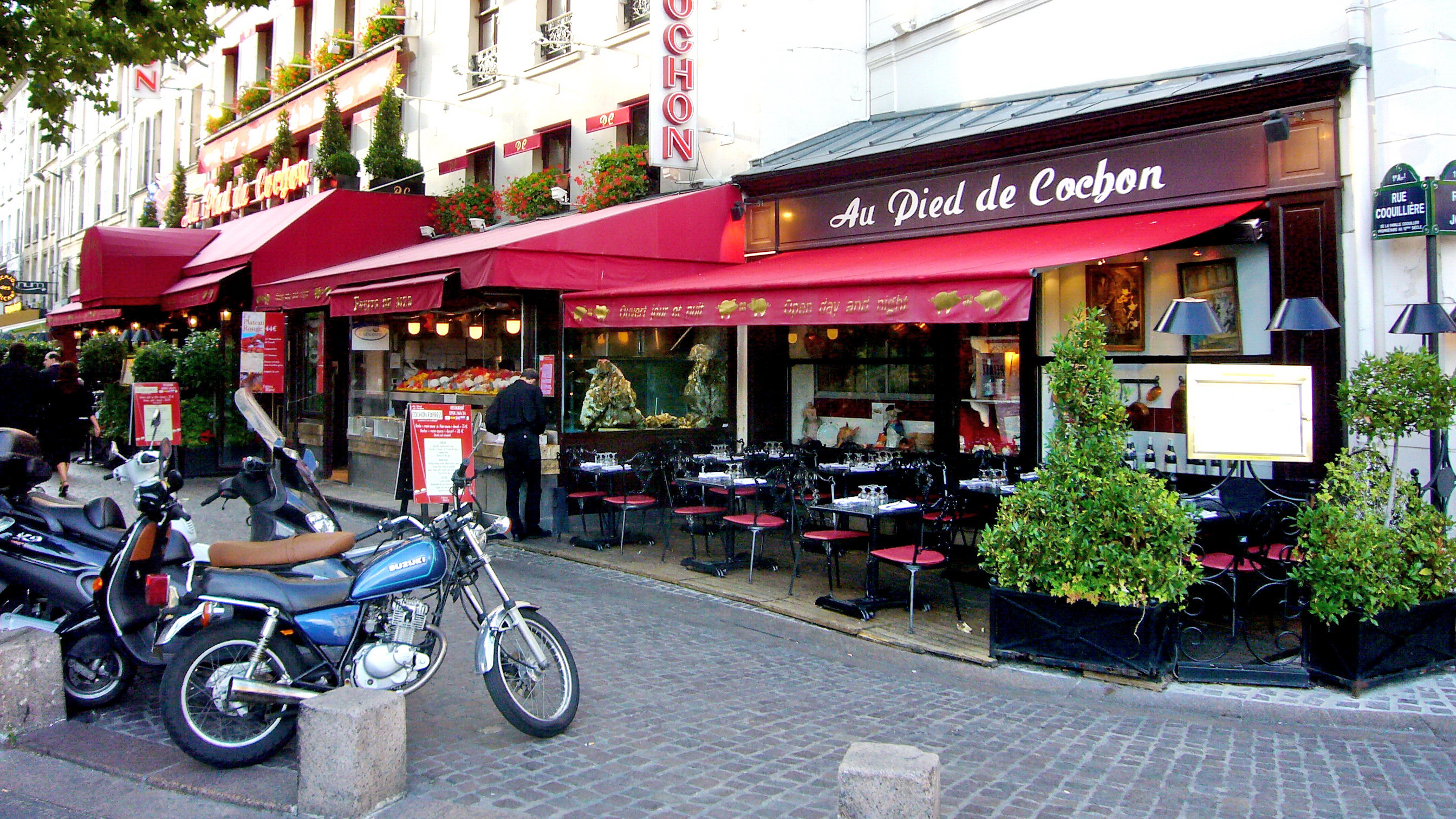 Best restaurants in paris affashionate com - Cuisiner des pieds de cochon ...