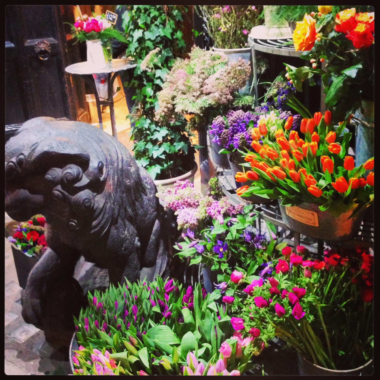 flowers at liberty london