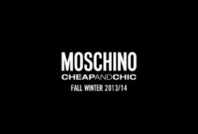Moschino Cheap&Chic fashion show, live here from London.