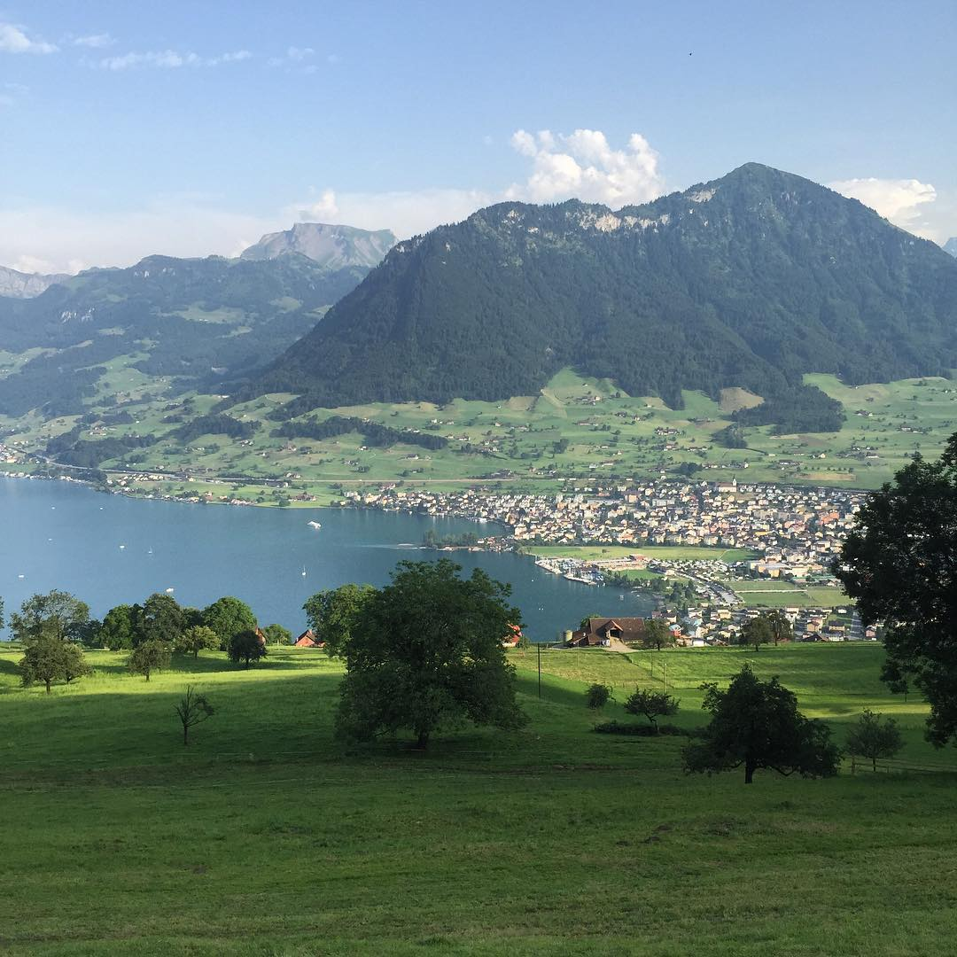 Enchanted panorama swiss lucerna mountain view beautifulview beautifulplace instanature travelhellip