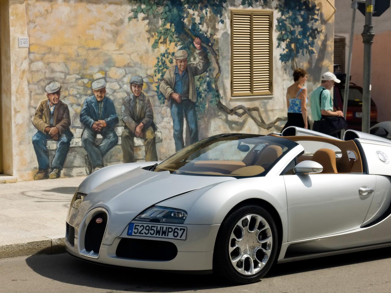 Bugatti Veyron Grand Sport Sardinia