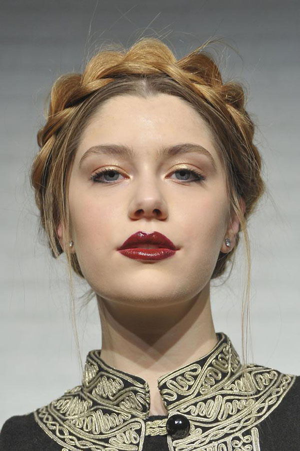 Alice-Olivia-NYFW-2013-hair-braid