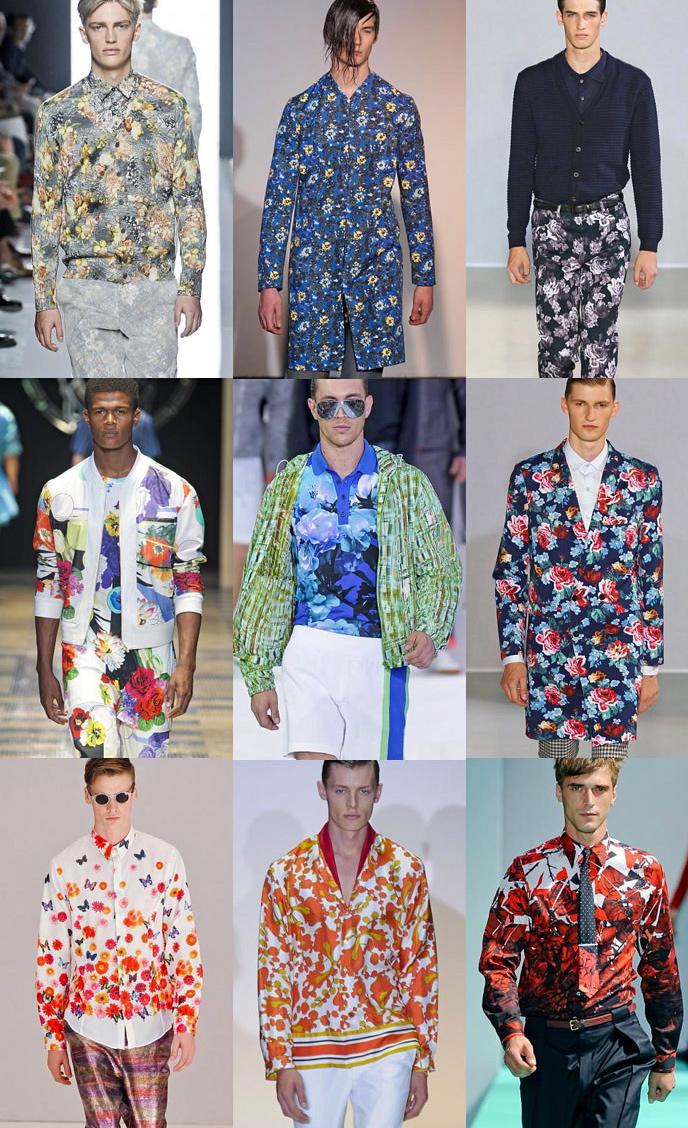 Camicie floreali