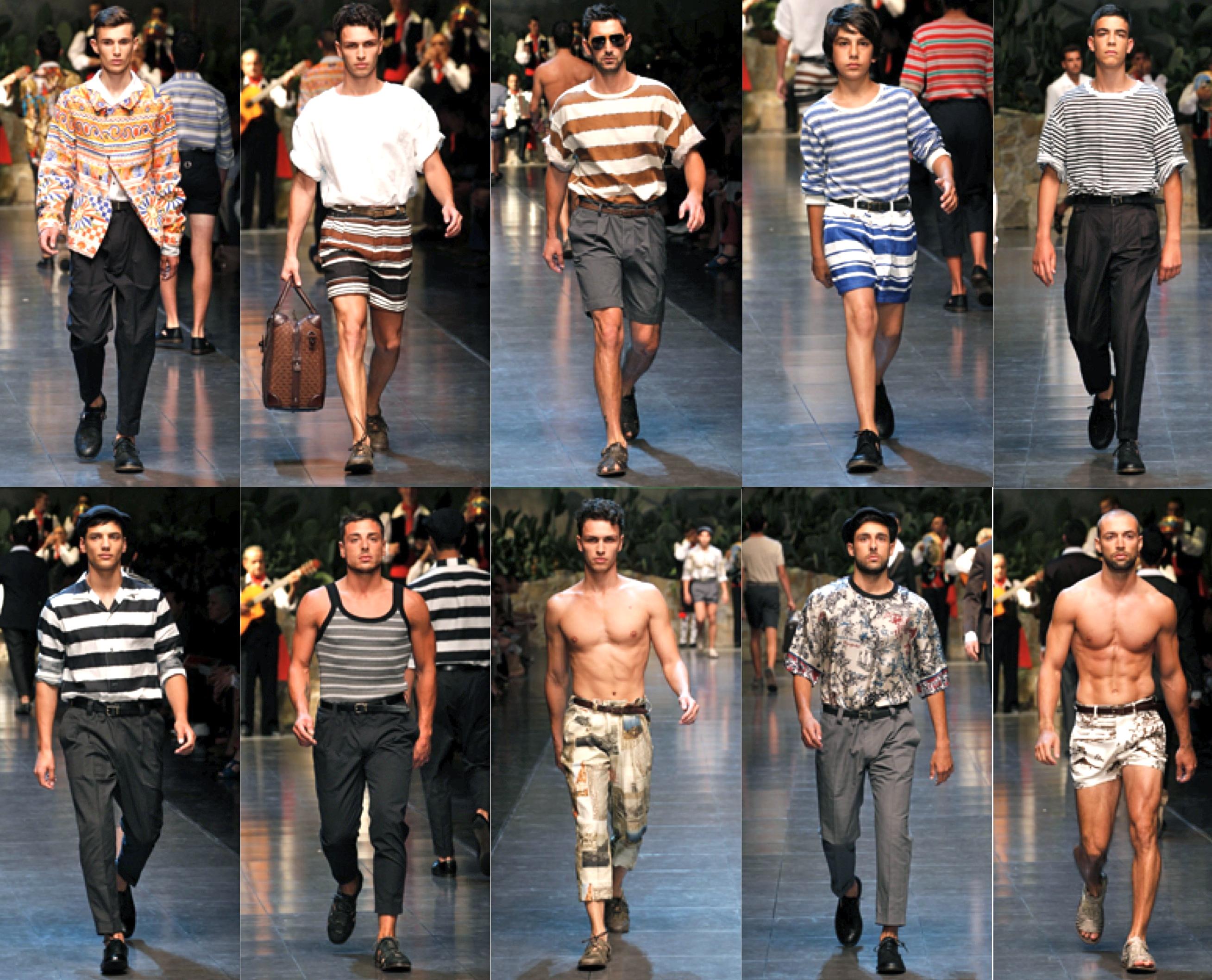 Dolce&Gabbana SpringSummer Menswear