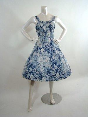 Shrimpton Couture_ 50s dress