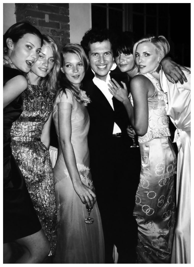 shalom harlow and other models
