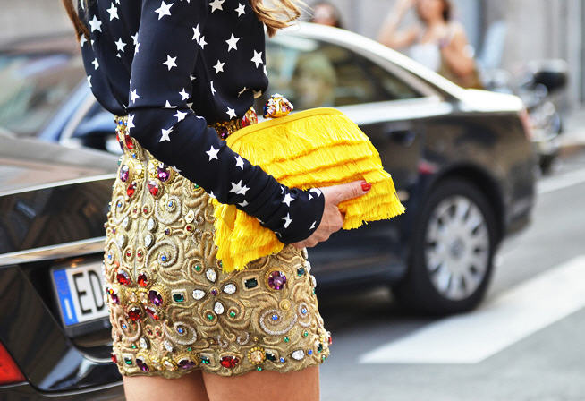 tommy ton yellow clutch 2