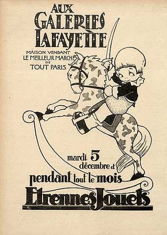 37053-galeries-lafayette-department-store-1922-rocking-horse-toys-hprints-com