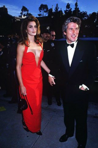 cindy crawford in gianni versace