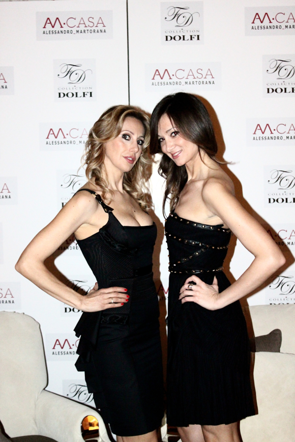 Cristiana Corradi e Isabella Fiore produzione evento