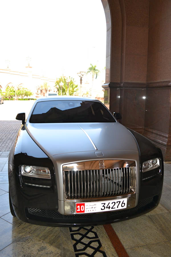 just arrived at the hotel...is this our car? ehm...no....