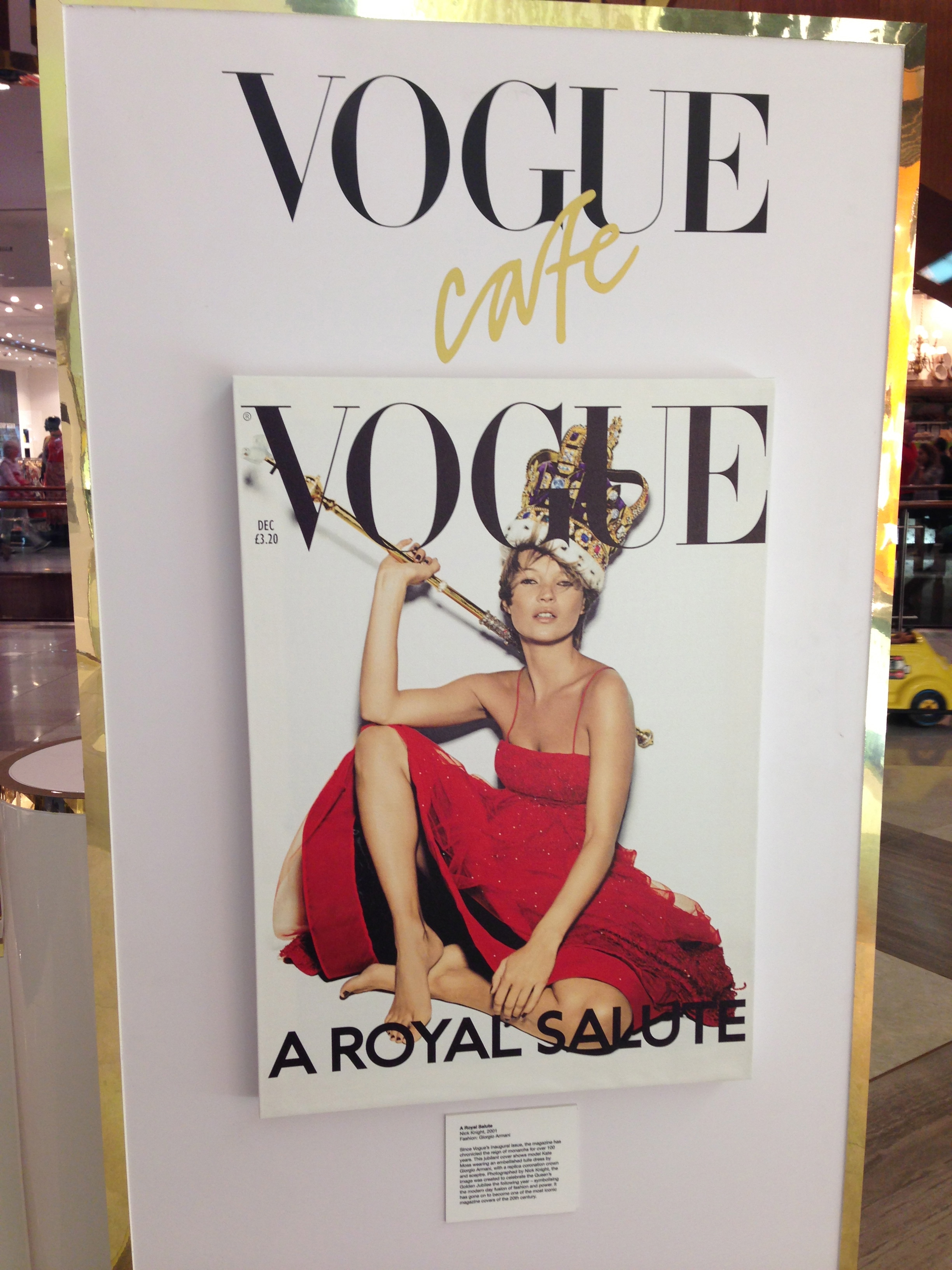 vogue cafe' in dubai mall