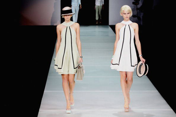 Emporio Armani - Milan Fashion Week Womenswear Spring/Summer 2012