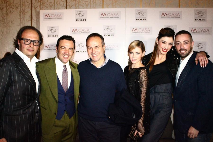 foto di gruppo con Margherita Grande Fratello e Matteo Osso