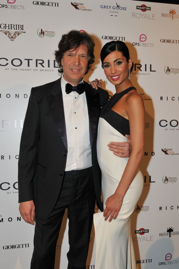 Marco Artesani, AD Cotril, e Federica Nargi