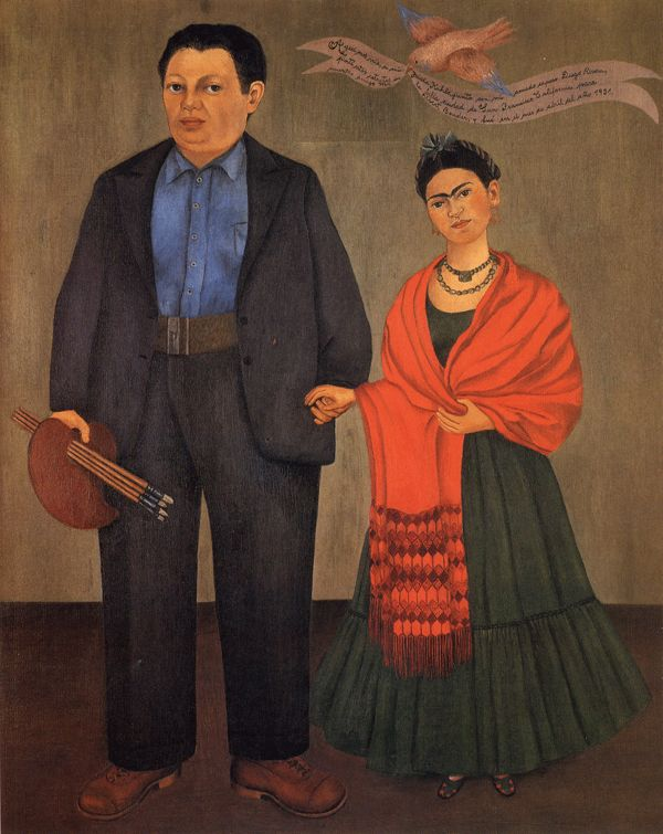Frida+%26+Diego+1931