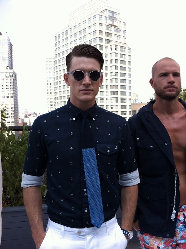 Nautica Men's Presentation Spring Summer 2013 Empire Hotel Rooftop