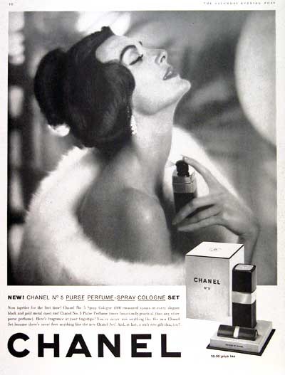 Chanel vintage no.5 advertisement