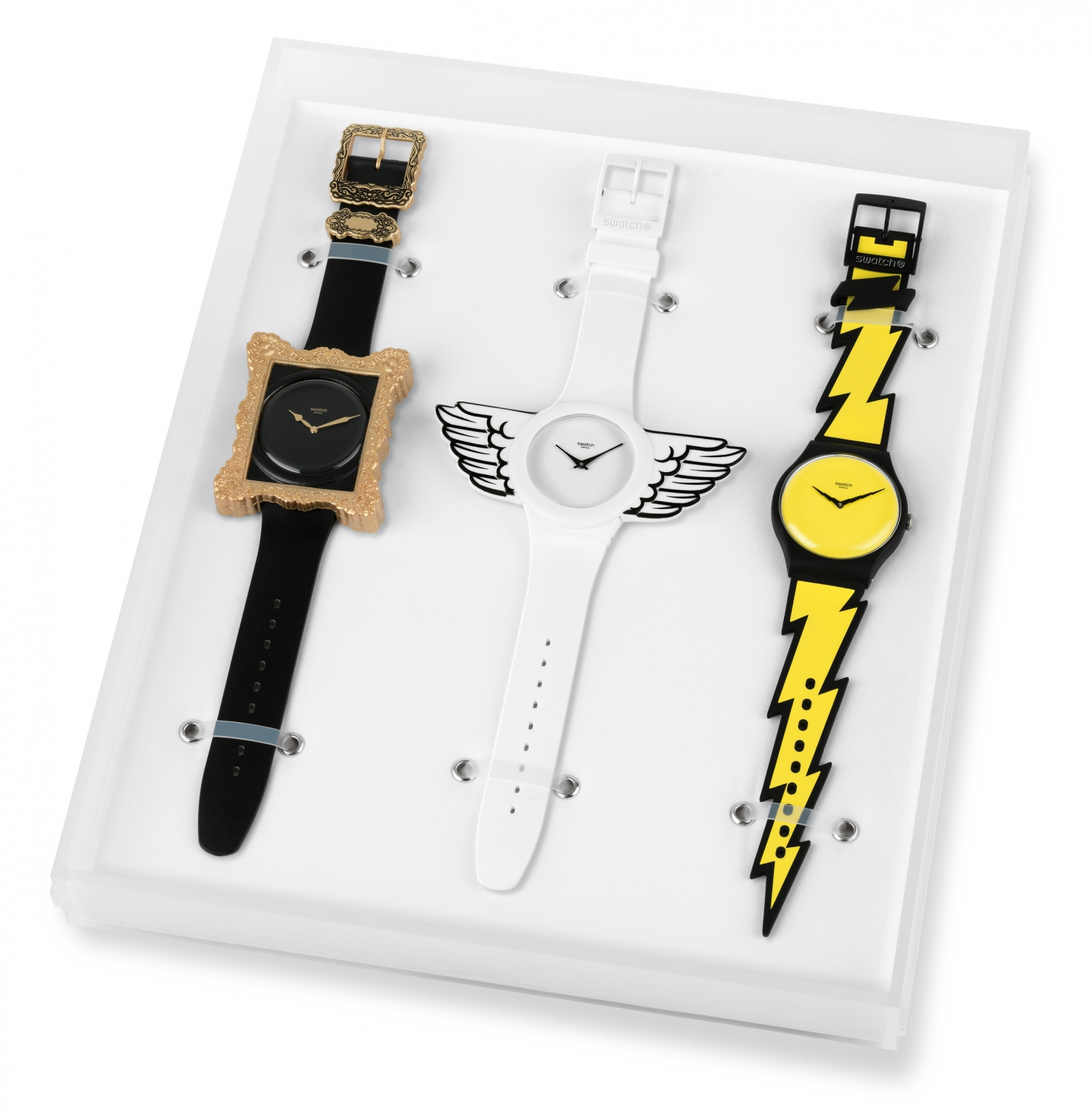 New swatch designs by Jeremy Scott