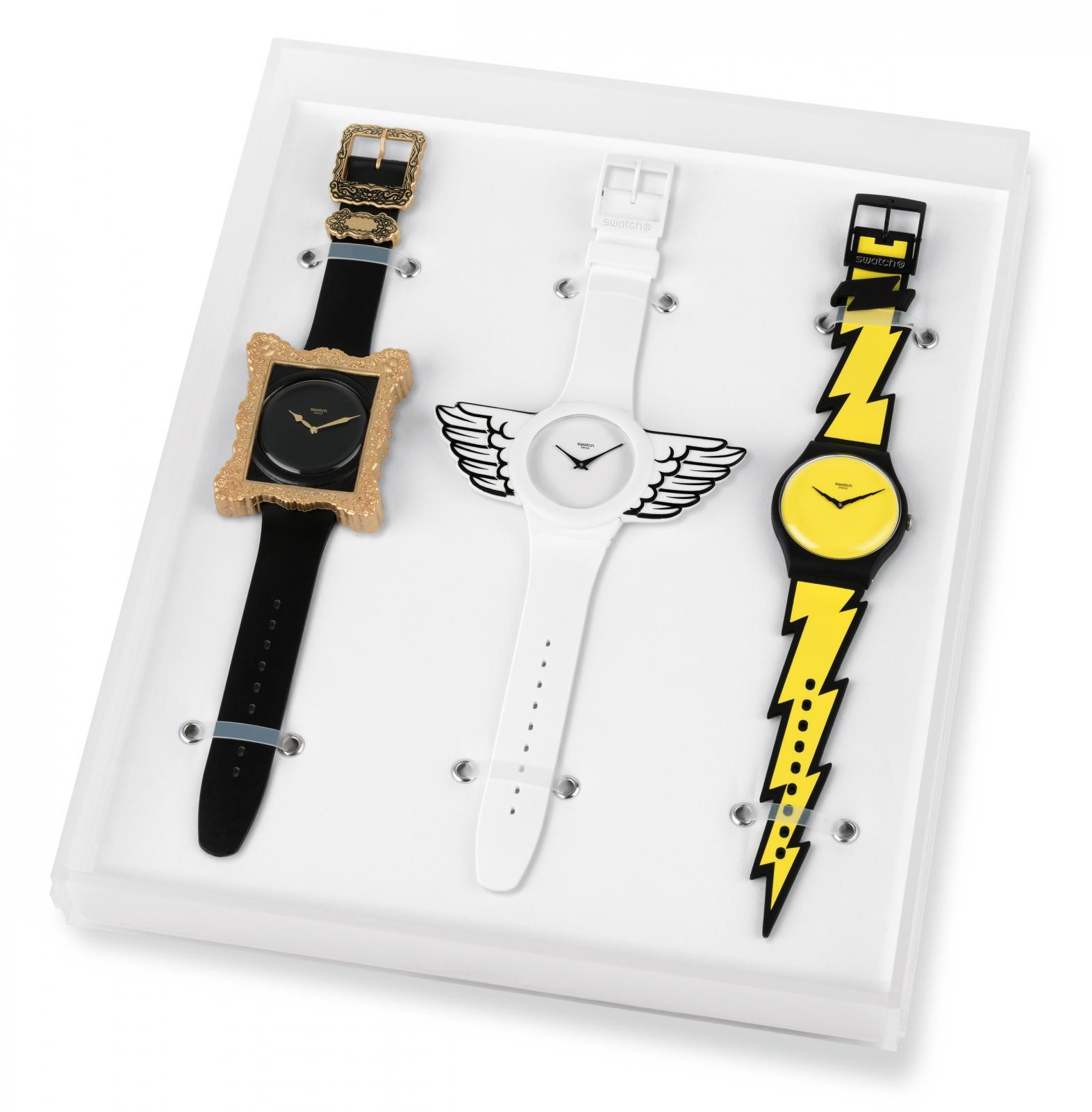 New swatch designs by Jeremy Scott
