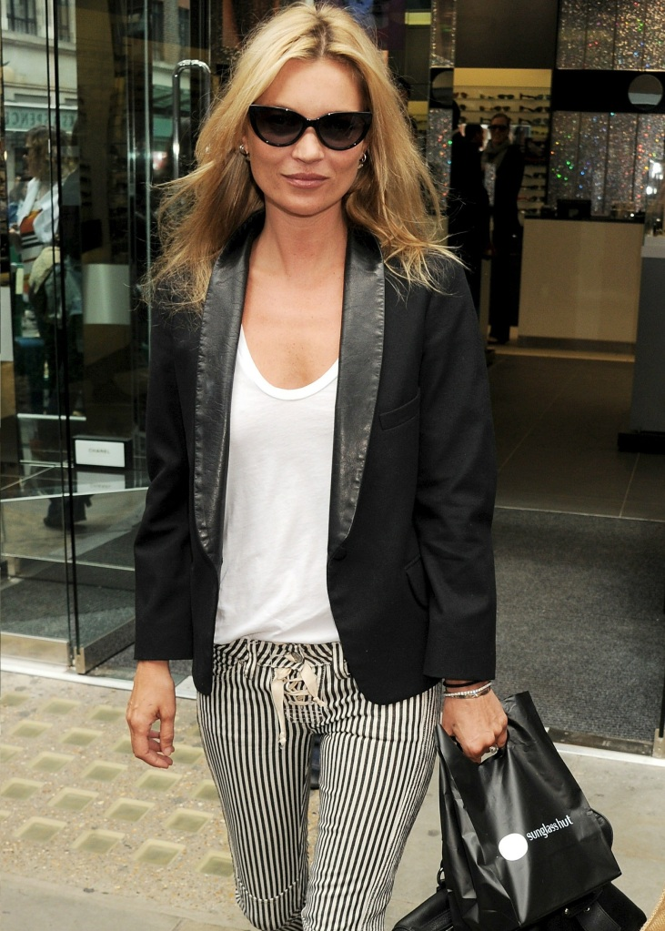 Kate Moss'style.