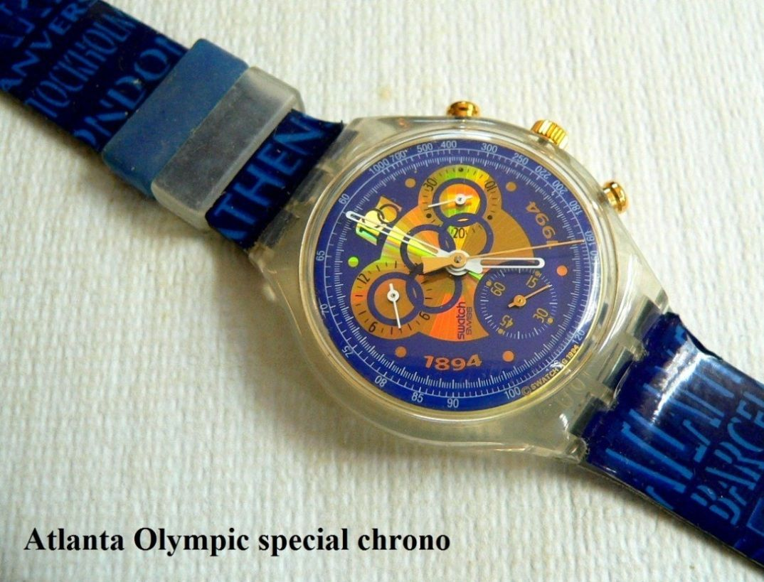 Swatch 1996 Atlanta Olympics Watch