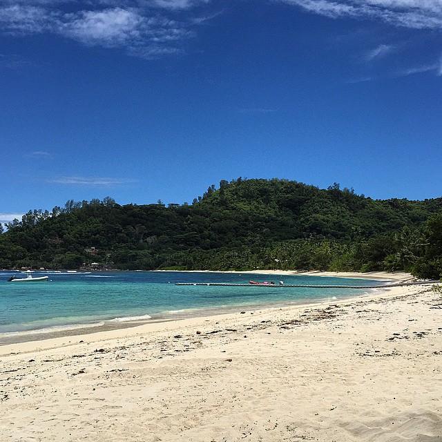 Good morning Seychelles! #goodmorning #sea #sun #summer2015 #summer #beach #beautiful…