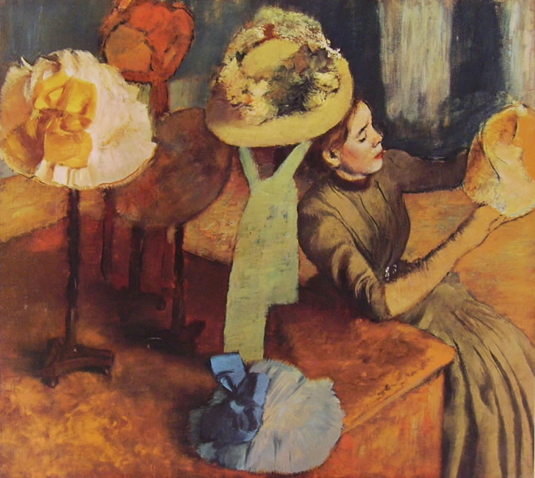 120 Degas - Modista