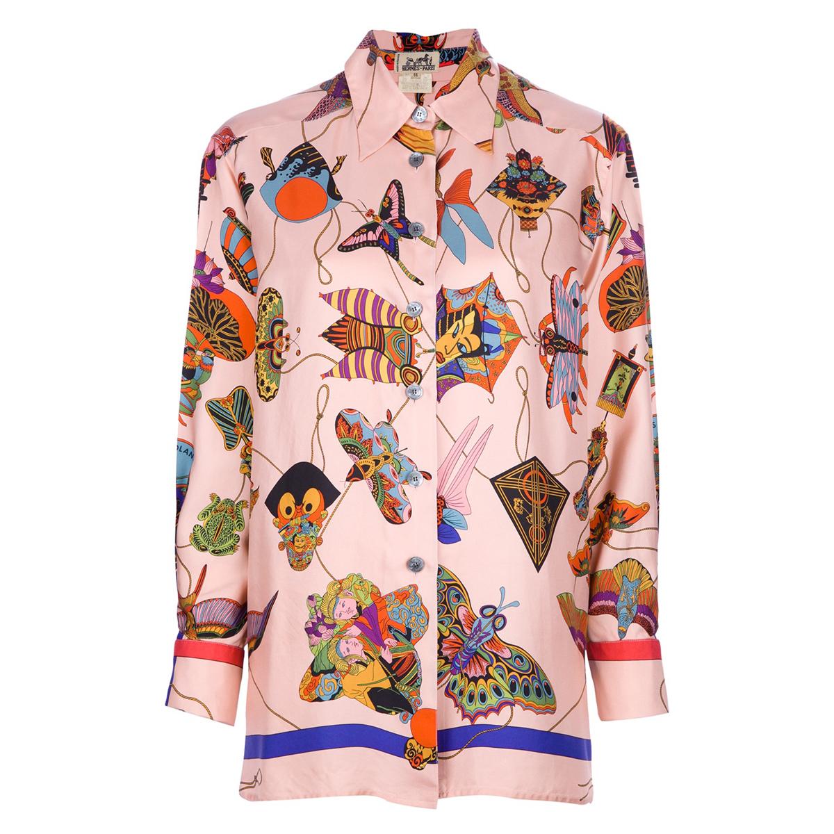 camicia hermes anni 90