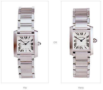 Style Watch Cartier Gents or Ladies-Hero2359435456722