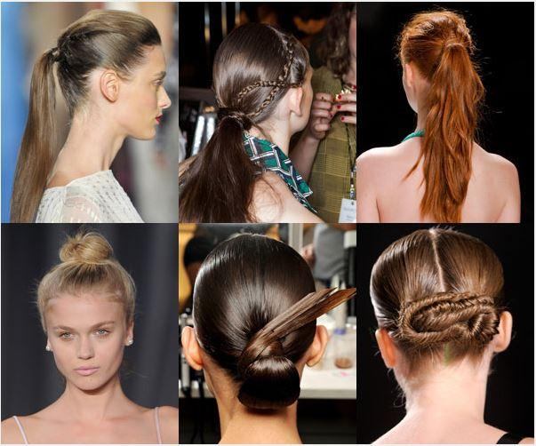 different hairstyle