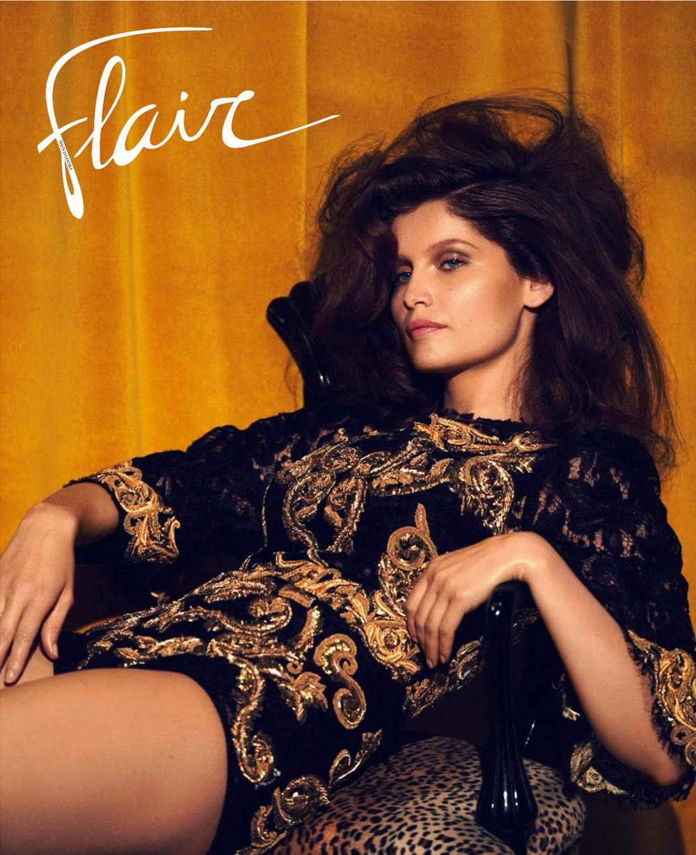 laetitia-casta-flair-cover-3
