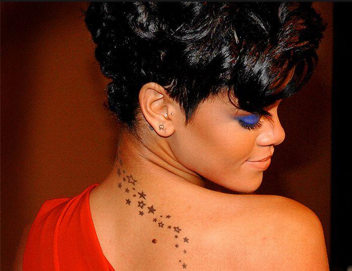 rihanna's tattoo