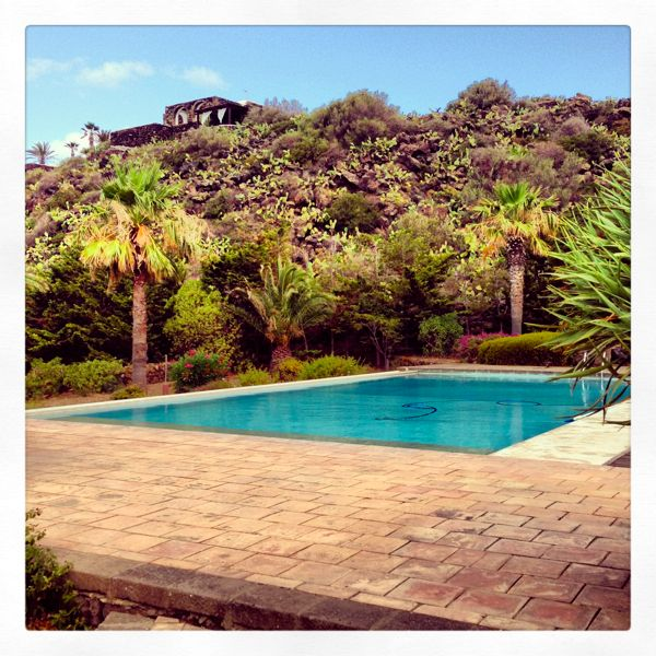 """my"" swimming pool in pantelleria"