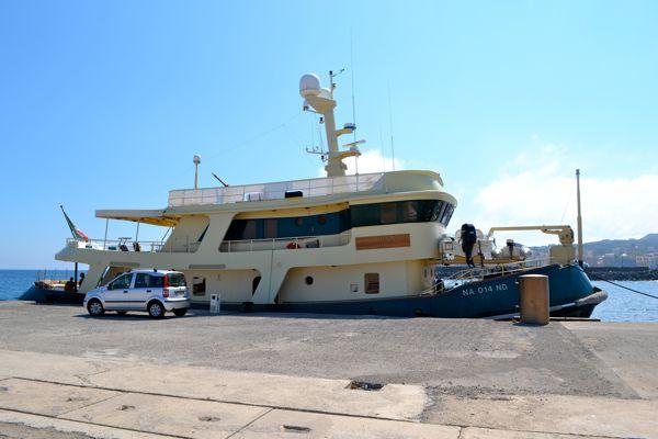the bud spencer's boat