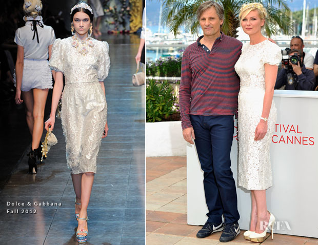 Kirsten-Dunst-In-Dolce-Gabbana-'On-The-Road'-Cannes-Film-Festival-Photocall