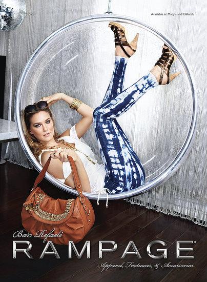 Model-Bar-Refaeli-Rampage-Spring-Ad-Campaign