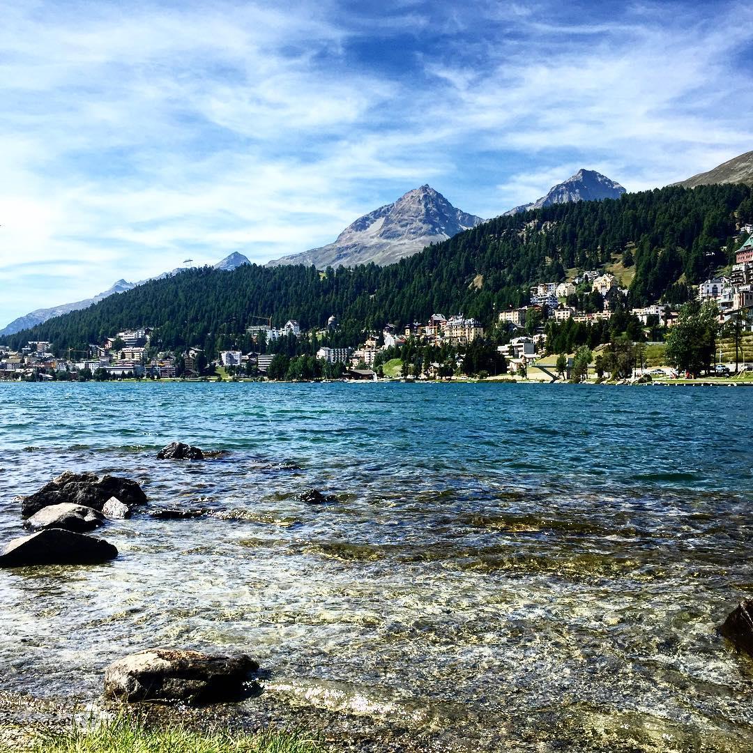 Silenzio Parla il lago silence travelblogger lake stmoritz swiss schweizhellip