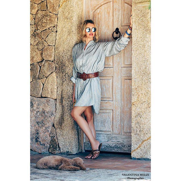 Outfit on my blog affashionatecom wearing ralphlauren archive dressvintage clutchhellip