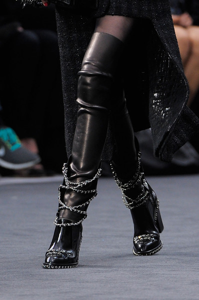 chanel boots f/w 2013