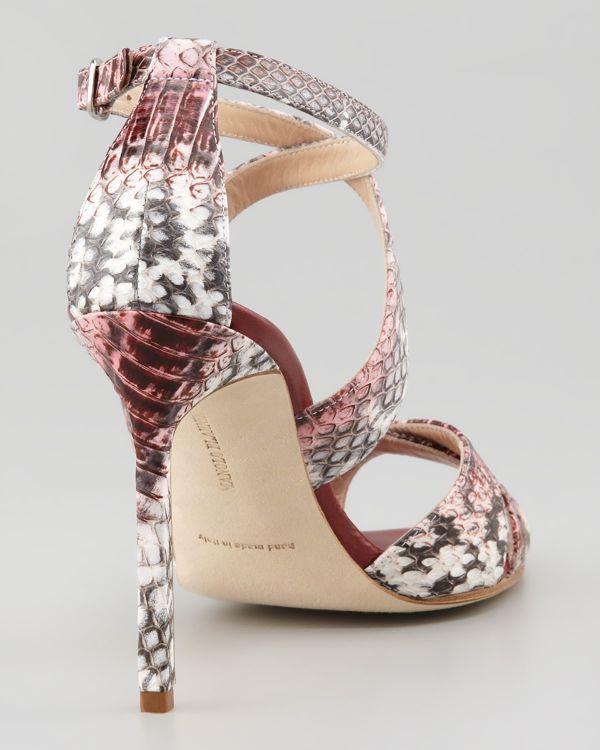 352-Manolo-Blahnik-Deliso-Crisscross-Watersnake-Sandal-Pink-Gray-3