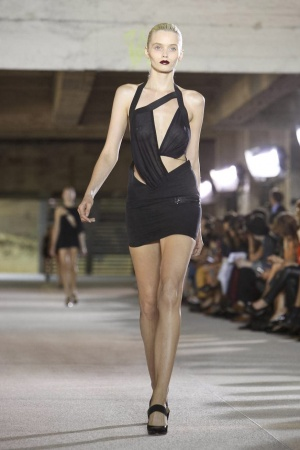 Anthony Vaccarello , Ready to Wear, SS 2012, Paris