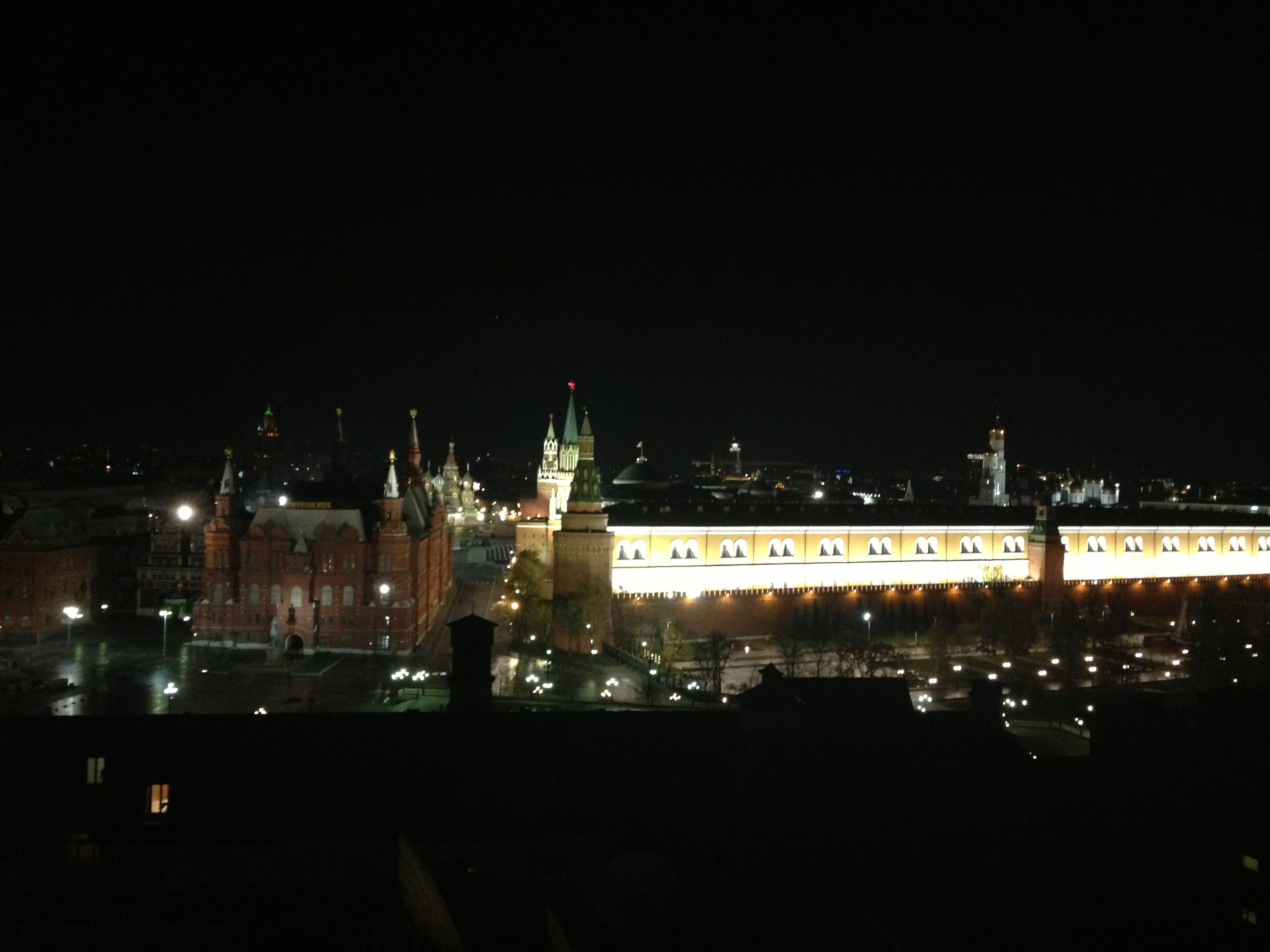 moscow view from kremlino hotel