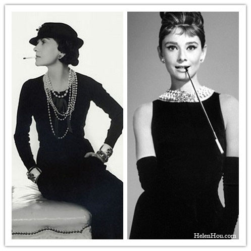 coco chanel and audrey
