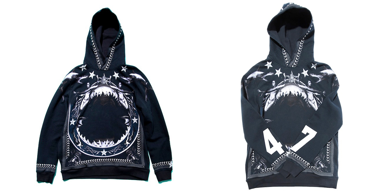 Givenchy-Shark-Print-Mermaid-Hoodie-featured-image