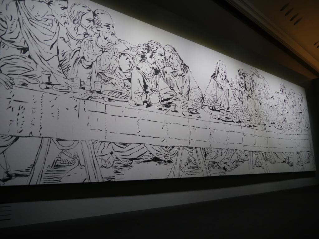 Il-cenacolo-secondo-Warhol