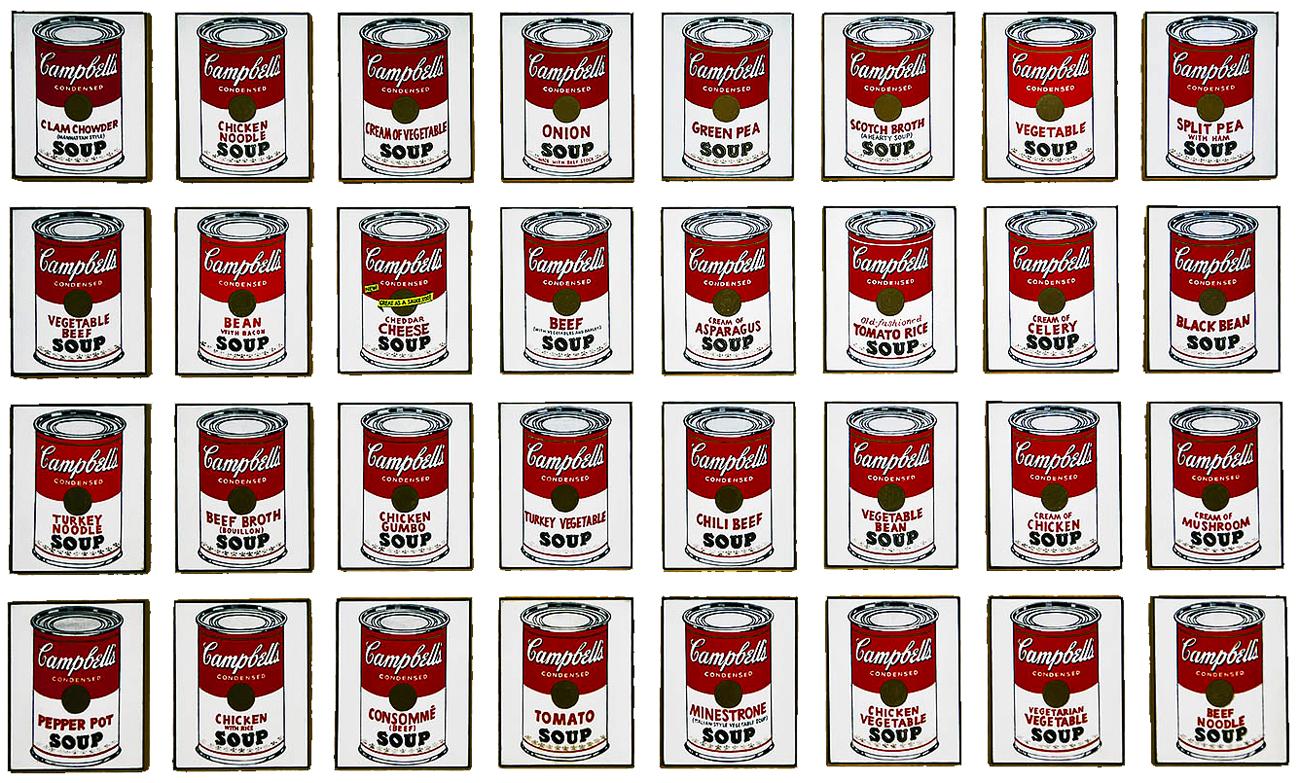 Visita-Guidata-Mostra-Palazzo-Reale-Andy-Warhol-Zuppa-Campbells