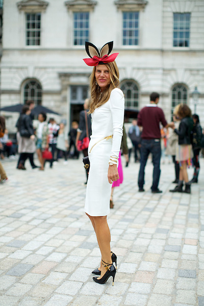 London Fashion Week Streetstyle S/S 2013, Somerset House, London